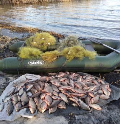 Протягом семи днів викрито порушників, які нанесли понад 43 тис. грн збитків, - рибоохоронний патруль Полтавщини